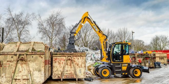 JCB Hydradig for Polymer processing plant
