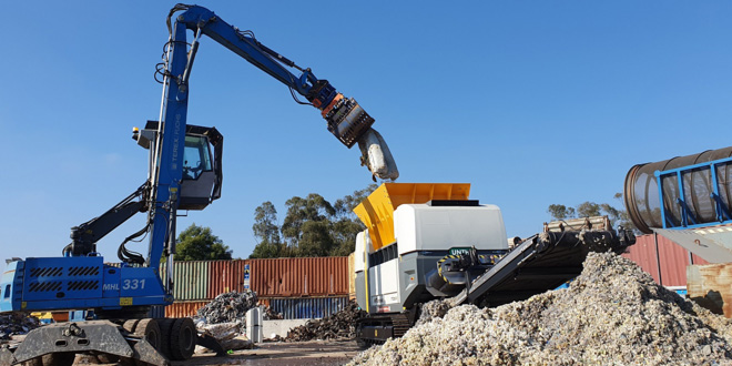 Knox Recycling takes delivery of Australias first UNTHA XR