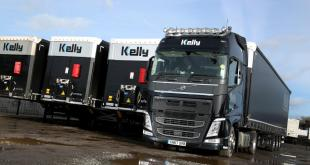 SCHMITZ CARGOBULL SMART TRAILER TELEMATICS SECURES NEW CURTAINSIDER ORDER WITH KELLY INTERNATION