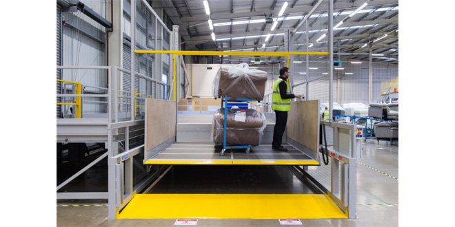 Transdek boosts safety and efficiency at DFS Distribution Centres