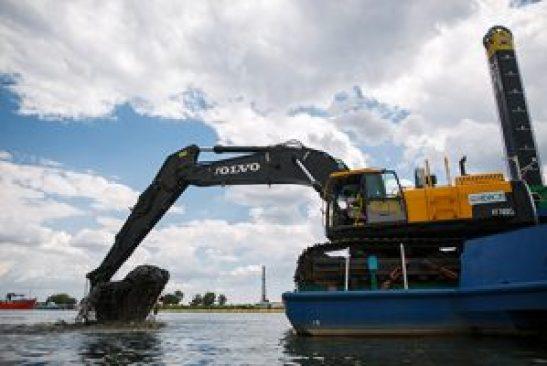 Volvo CE excavator