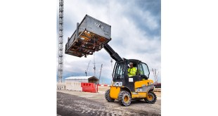 JCB Teletruks contribute to low carbon power generation