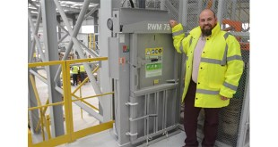 Wetherby Group invests in new Riverside Waste Machinery baling technology