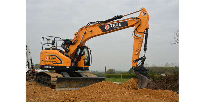 Young ambition – True Plant Hire invest in first Hyundai HX235LCR