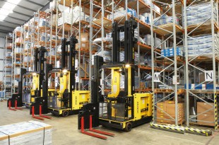 HYSTER DEVELOPS WAREHOUSE SPACE-SAVING SOLUTIONS