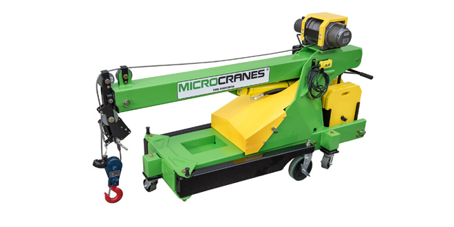 MICROCRANES NOW OFFERS WIRELESS REMOTE ABILITIES