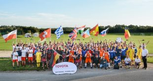 Challenge Respect and Teamwork for all to see at Toyota Material Handling Europe