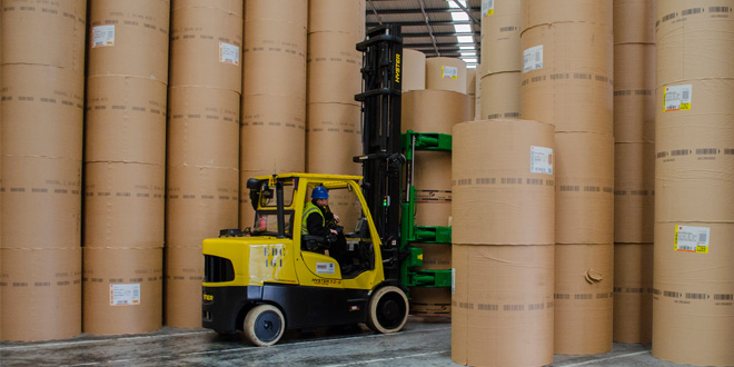 Don't move – Improve with Spacesaver lift trucks says Hyster Europe