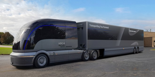 HYUNDAI MOTOR COMPANY REVEALS COMMERCIAL TRUCK MOBILITY VISION AT NACV SHOW