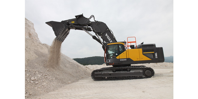 High praise for Europes first Volvo front shovel excavator
