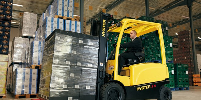 Is the future of forklifts all electric?