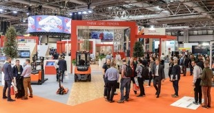 Toyota stand at IMHX 2019
