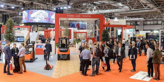 Toyota Material Handling drives the THINK : LIKE : TOYOTA approach at IMHX 2019