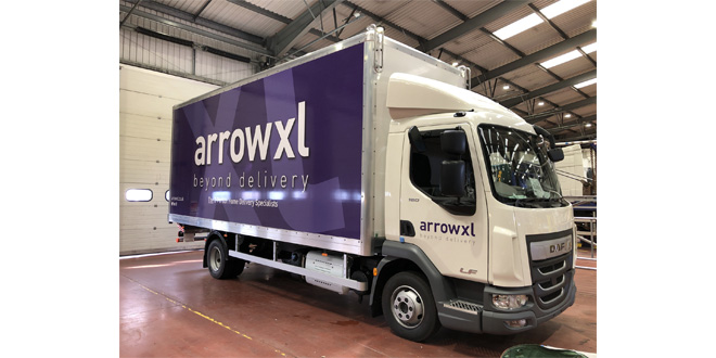 ARROWXL MAKES 5 MILLION GBP FLEET INVESTMENT
