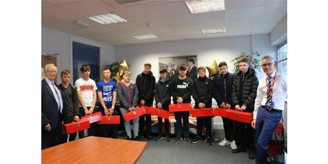 CARTWRIGHT GROUP WELCOMES NEW INTAKE OF APPRENTICES
