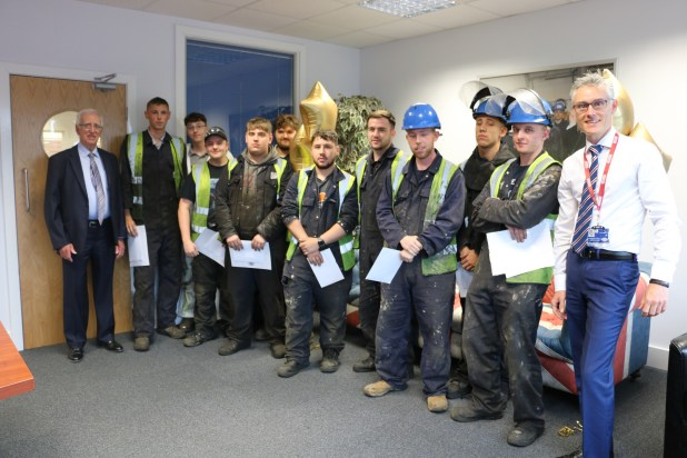 Cartwright Group apprentices
