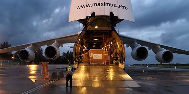Chapman Freeborn successfully deliver MRI machine to the Maldives