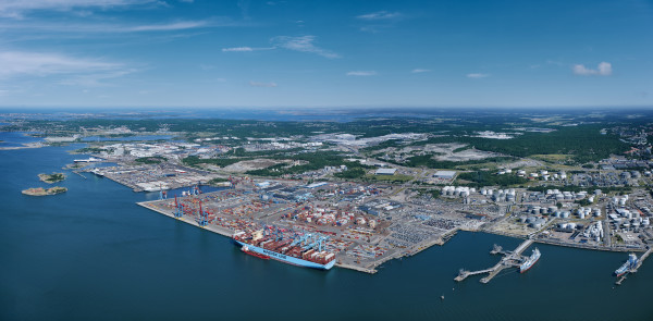Container traffic at the Port of Gothenburg on the rise – despite uncertain market situation