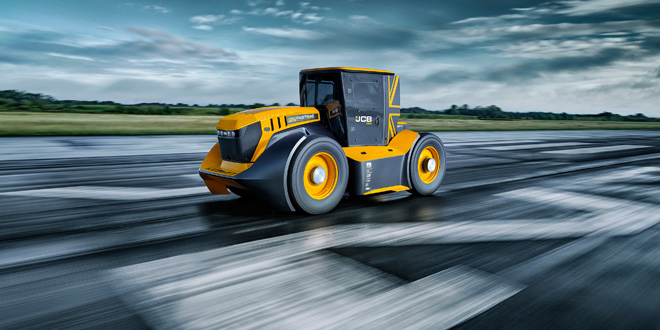 GKN Wheels & Structures supports JCB Fastrac – the world's fastest tractor