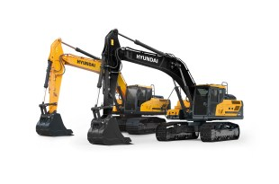 Hyundai Construction Equipment Europe HCEE reveals all new look for A series
