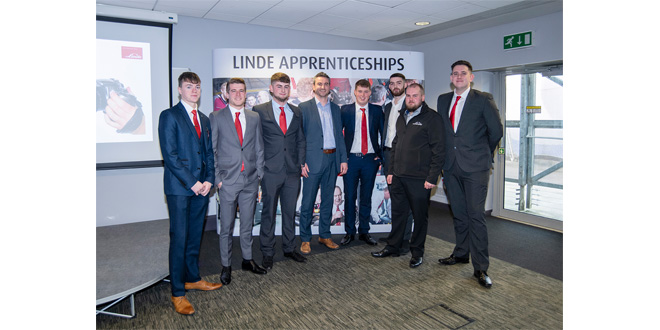 Apprentice success at Linde annual awards