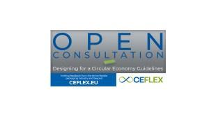 CEFLEX announces Open Consultation Designing for a Circular Economy Guidelines