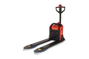 New unique and innovative Lithium powered pallet truck from Logitrans