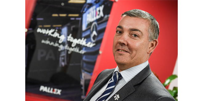 Pall-Ex UK Managing Director Barry Byers
