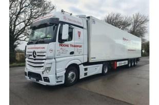 Krone transport technology matches Noone Transport needs