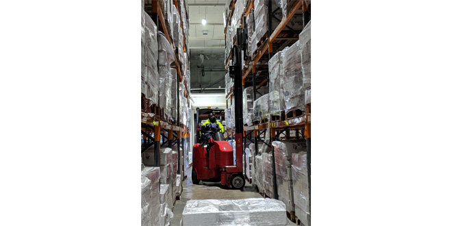 Lithium ion powered Flexi trucks boost cold stores efficiency