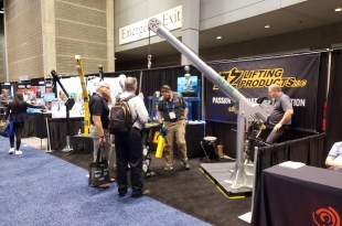 OZ Lifting to Show New Davit Cranes at MODEX