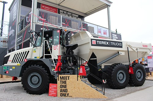 Terex Trucks to showcase TA300 and TA400 at CONEXPO