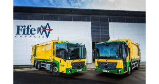 Fife Council gears up for fuel savings with 11 more Mercedes-Benz Econic from Western Commercial