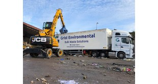 GRIST ENVIRONMENTAL TURNS TO JCB FOR A NEW WHEELED EXCAVATOR