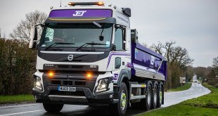 JET PLANT HIRE FMX 8X4 TRIDEM CHASSIS COMPLETES A VOLVO RANGE CHANGE