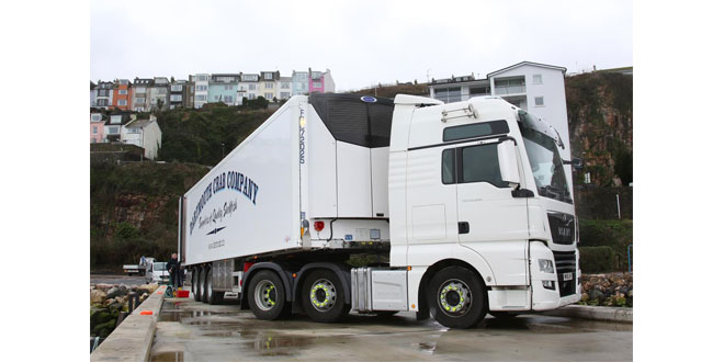 Dartmouth Crab Company Selects Carrier Transicold Vector HE 19 Units