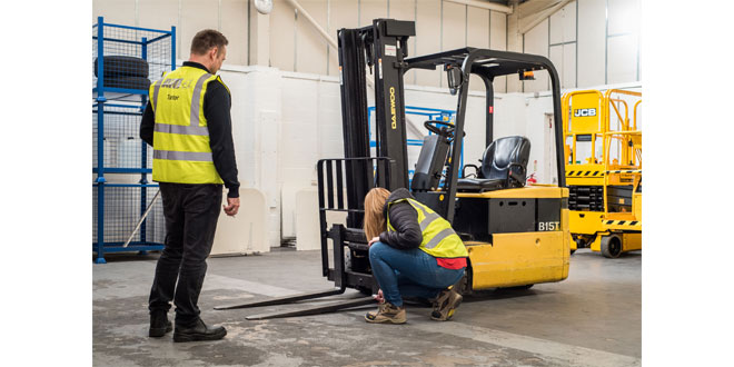 Companies urged to prioritise training as forklift operators are classed as key workers
