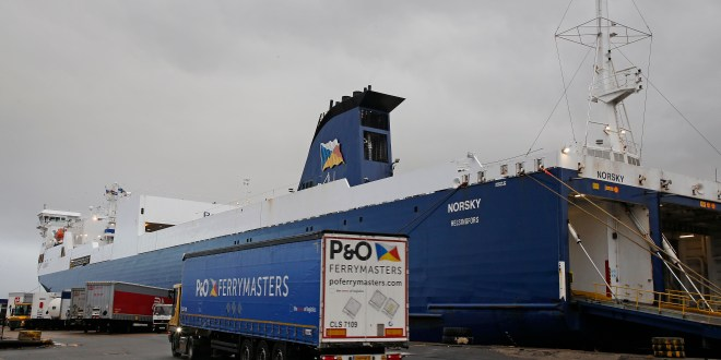 P&O FERRIES REINFORCES FREIGHT OPERATIONS TO SECURE RESILIENCE OF CALAIS-DOVER CROSSING