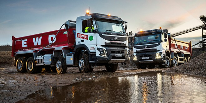 EWD Recycling places confidence in Volvo FMX eight wheelers