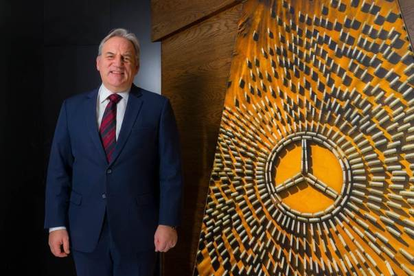 Loyal servant Mike Belk will retire later this year, having spent more than half of his working life with the Mercedes-Benz brand