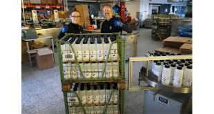 Marabu donates disinfectant made in house