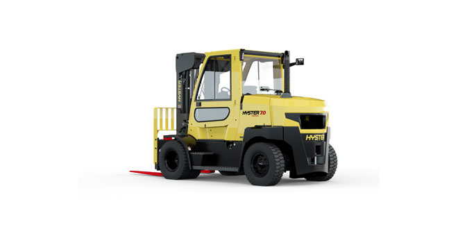 NEW SPACE SAVING HYSTER FORTENS FOR 7 AND 8 TONNE LIFTS