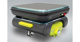 NSK Mobile robots for quiet locations now a reality thanks to NSK direct-drive wheel unit