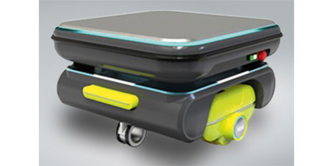 Mobile robots for quiet locations now a reality thanks to NSK's direct-drive wheel unit