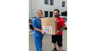 Over 60000 donations delivered to NHS hospitals thanks to Nurse Nikitta