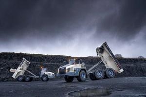 Terex Trucks  TA300 and TA400