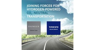 The Volvo Group and Daimler Truck AG form joint venture for large-scale production of fuel cells