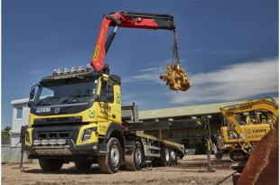 CASEY PLANT HIRE UPGRADES WITH NEW VOLVO FMX