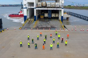 New freight ferry port passes dress rehearsal