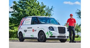 DPD teams up with iconic brand for testing ahead of van launch